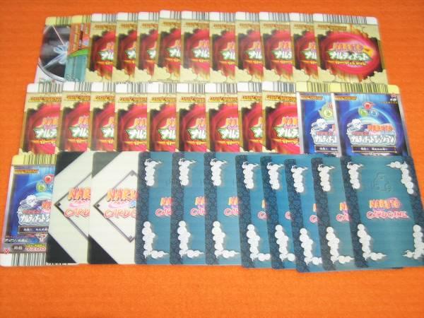 ナルト カードゲーム データカード 女の子キャラばかり 34枚