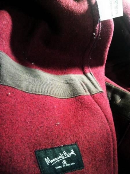 ■■マーガレットハウエル■■英国製コート希少品イングランド レア アウター ウール最高級コート イギリス ブランド_画像2