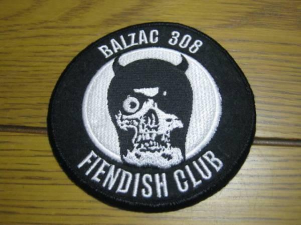 BALZAC バルザック/308 FIENDISH CLUB パッチ ZODIAC SHOCKER
