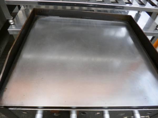 即決!中古美品 鉄板グリドル 都市ガス鉄板焼き 台付620 _画像2