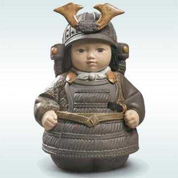リヤドロ LLADRO No.12552『SAMURAI TOY』◆日本未発売 端午の節句