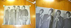 amy/ビートルズ/THE BEATLES GRAFFITTI POSTER/東芝EMI ポスター