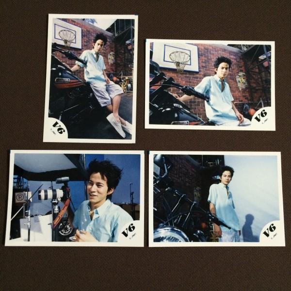 V6 岡田准一君 公式写真 284-287
