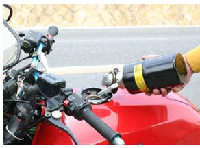 sale [ gasoline carrying can ]1000cc* in touring! nozzle attaching!