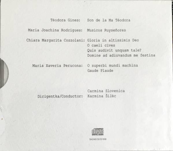 (Z0H)★声楽レア盤未開封/カルミナ・スロベニカ/Carmina Slovenica/Musica Inaudita/スロベニア★_画像2