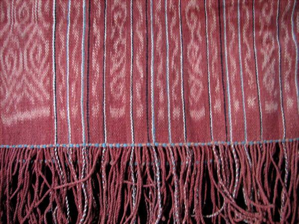 インドネシア・北中ティモール県(TTU)ビボキの伝統イカット(A)