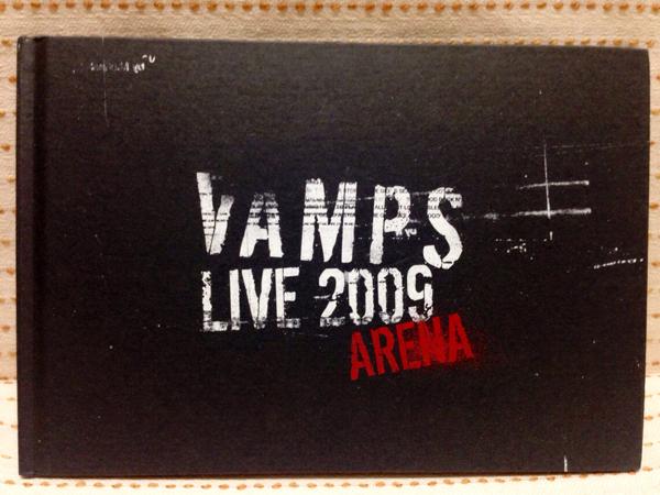 ■VAMPS パンフ 2009 ARENA/HYDE KAZ/写真集