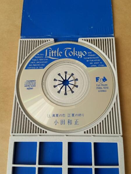 ♪8cmCD / 小田和正 / 真夏の恋 / 夏の終り_画像3