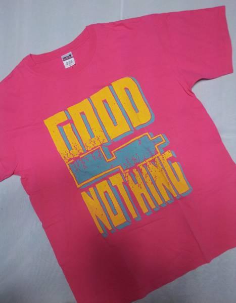 GOOD4NOTHING/バンドTシャツ/ピンクL