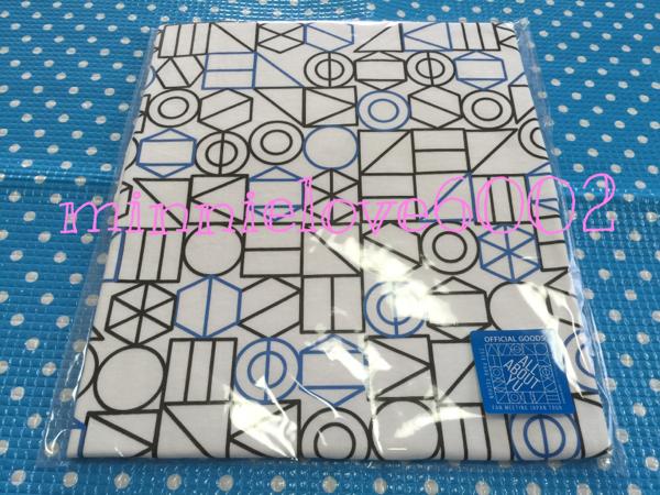 JYJ ユチョン★ALL ABOUT YU ファンミ 公式 Tシャツ B★大阪 白 ライブグッズの画像