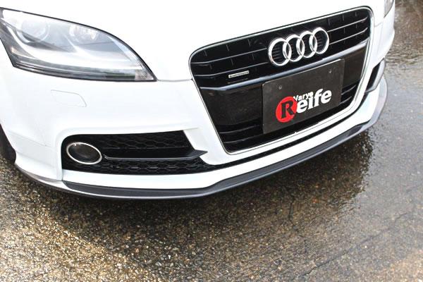 特価 ベリー Reife Audi TT S Line 後期 フロントリップ スポイラー エアロ_画像はカーボン製ですがFRP製も同形状です