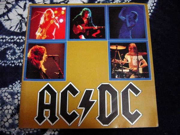 【パンフ】AC/DC'82年初来日公演