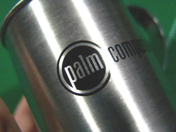 ▼旧 パーム Palm Computing ロゴ入り メタルマグカップ 未使用!!!▼_画像2
