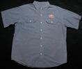 70's~80's ヴィンテージ シャンブレーワークシャツ 襟芯入り