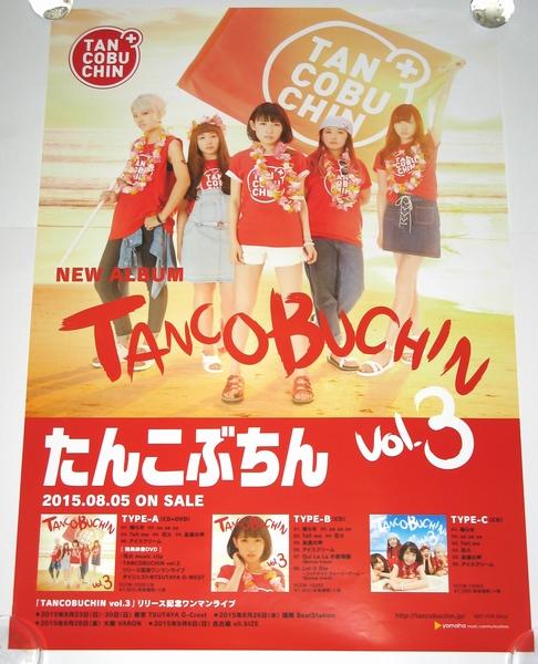 たんこぶちん [TANCOBUCHIN vol.3] 告知用ポスター