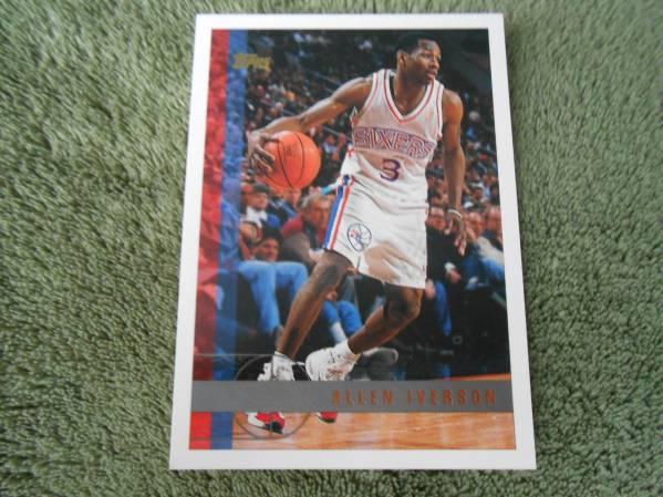 NBA 1997 TOPPS ★ ALLEN IVERSON ★ NO.54_画像1