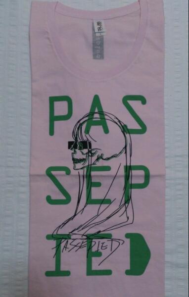 ★即決★パスピエ(passepied)【ピンクの半袖Tシャツ】L