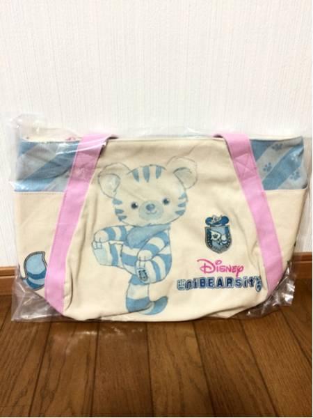 ユニベア スフレ トート バッグ チェシャ猫 映画バージョン ディズニーグッズの画像