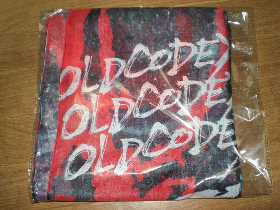 OLDCODEX「ONE PLEDGES TOUR2015」ストール・新品