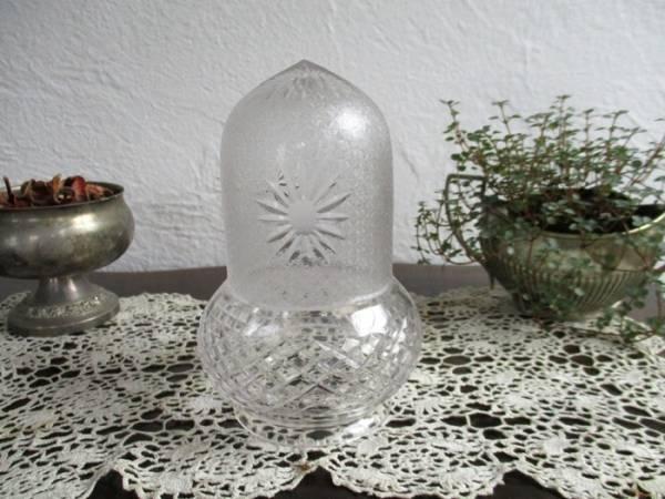 5166 ◆ガラス*シェード*電笠*イギリス*英国*インテリア雑貨_画像1