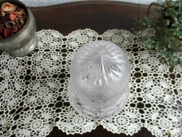 5166 ◆ガラス*シェード*電笠*イギリス*英国*インテリア雑貨_画像2