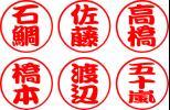Круги     Имя  наклейка     красный     2 шт  набор    b