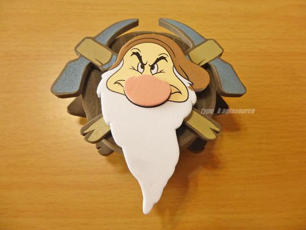 DISNEYディズニー アンテナトッパー・ボール白雪姫グランピーUSDM北米JDM_画像1