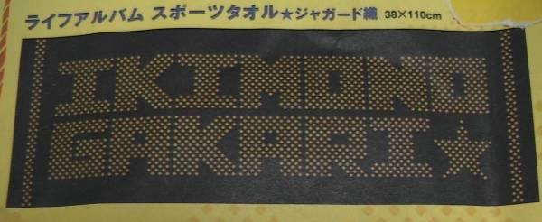 【新品未開封】いきものがかり ★ジャカード織タオル★2008年