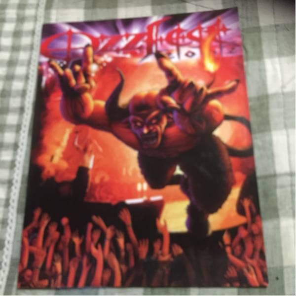 ★神レアozzfest02パンフレット オジーオズボーン 地獄極楽レア
