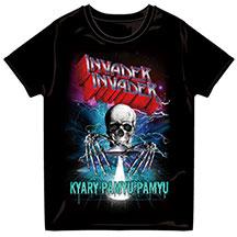 《新品未開封》きゃりーぱみゅぱみゅMETAL INVADER Tシャツ(L) ライブグッズの画像