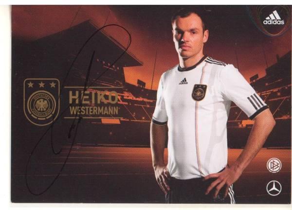 A120 代表発行直筆サイン ドイツ代表 ハイコ・ヴェスターマン DFB 2010 レアル・ベティス