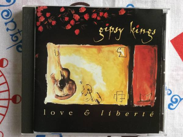 ジプシー・キングス ♪ ラヴ&リベルテ 日本盤CD_画像1
