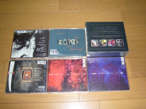 輸入盤 5CD-BOXセット PARADISE LOST/ THE SINGLES COLLECTION