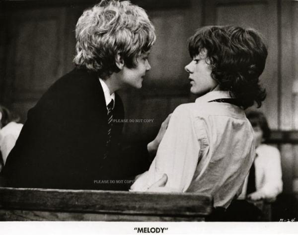 1971年「小さな恋のメロディ」メインキャスト 大きなフォト2枚