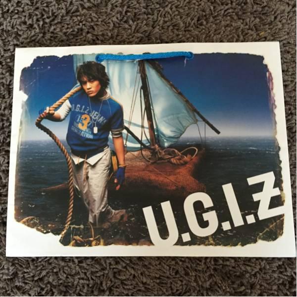 韓国★SE7EN セブン U.G.I.Z ショッパー・紙袋★非売品レア ライブグッズの画像