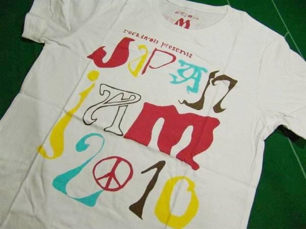 ▼ジャパンジャム2010 第1回Tシャツ/ホワイトM 未使用!!!▼