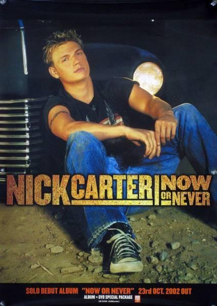NICK CARTER ニック・カーター BSB B2ポスター (3B003)