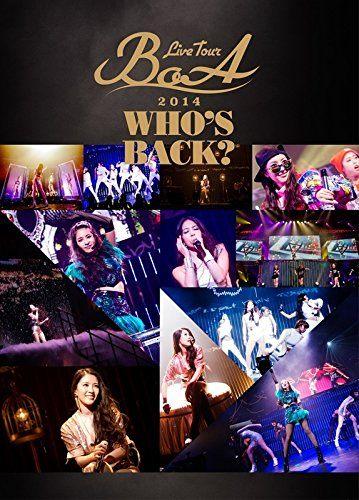 BoA LIVE TOUR 2014 ~WHO'S BACK?~ DVD2枚組 新品即決 送料360円 ライブグッズの画像