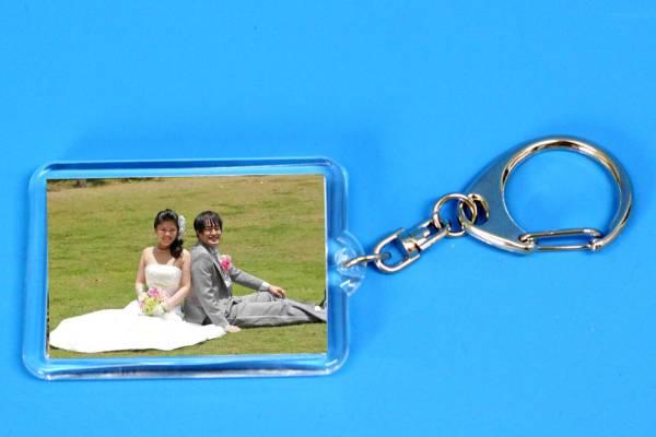 結婚式のお写真をキーホルダーにします■ウエディング 披露宴 ●20●★★★_画像1