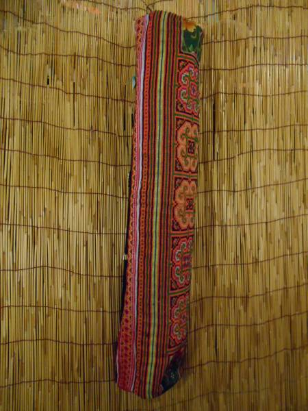 ②モン族 手刺繍 ヨガマットケース エスニック アジアン 民族