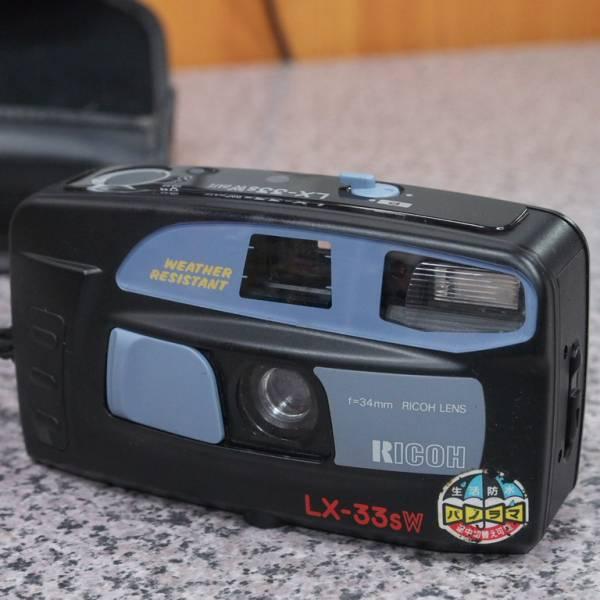 リコー コンパクトカメラ LX-33sW ジャンク品_画像1