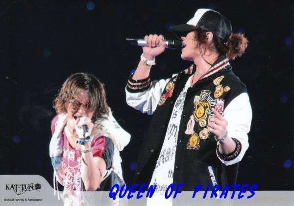 亀梨和也 赤西仁 公式写真1枚 2008年ツアー