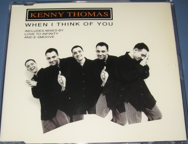 ★CDS★Kenny Thomas/When I Think Of You★E-Smoove R 'N' B Mix★Love To Infinity★ケニー・トーマス★CD SINGLE★シングル★_画像1