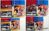【ダミージャケットのみ】PS4/PSVITA ワンピースバーニングブラッド 店頭用ダミジャケ●未使用 非売品 コレクション グッズ
