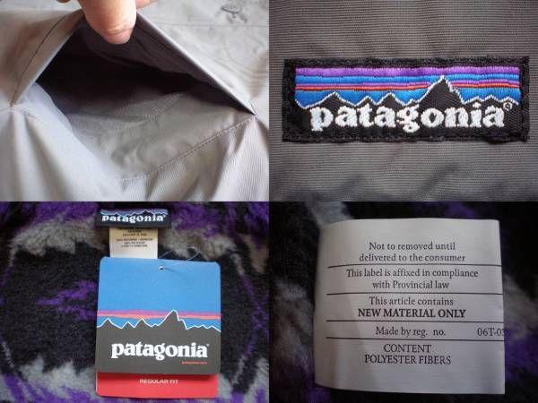 パタゴニア M's Chiminea Jacket シェル フリース ジャケットMグレー系 ネイティブ柄 PATAGONIAチミネア レトロ ボア パイル カーディガン/_画像3