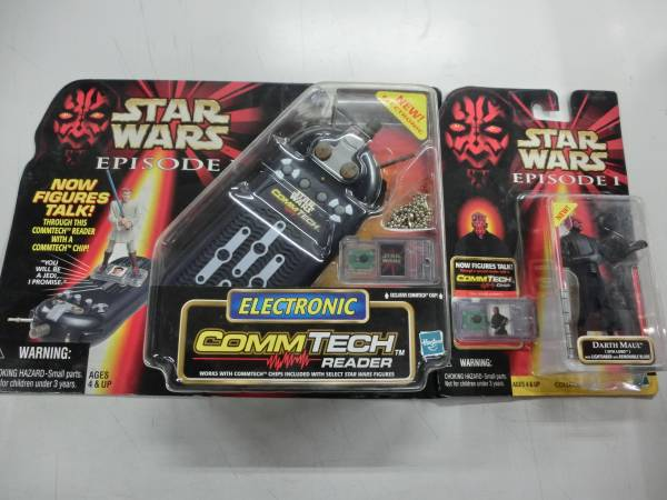 TOMY STAR WARS EPISODE1 コムテックリーダー+ダース・モール_画像1