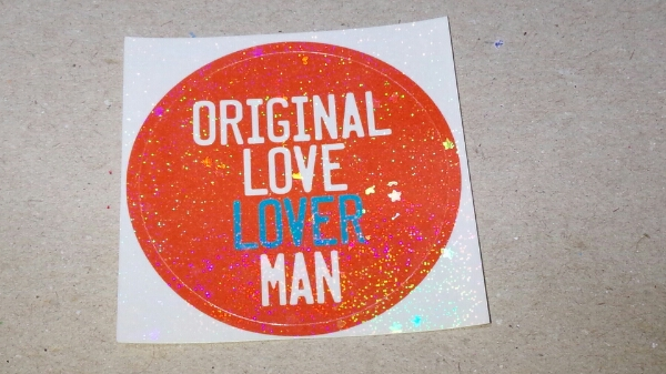 オリジナルラヴ LOVER MAN ステッカー 1枚 新品
