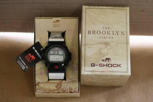 G-SHOCK × BROOKLYN CIRCUS ブルックリンサーカス 別注 DW-6900BKC 腕時計【未使用品】
