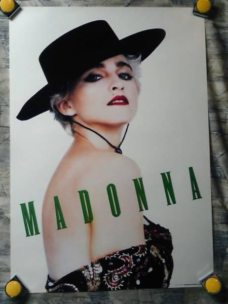 p10【ポスター/B-2】マドンナ-Madonna/販促用ポスター