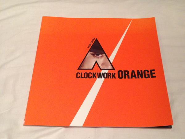時計仕掛けのオレンジ 舞台パンフレット 小栗旬 レア 美品 値下げ グッズの画像